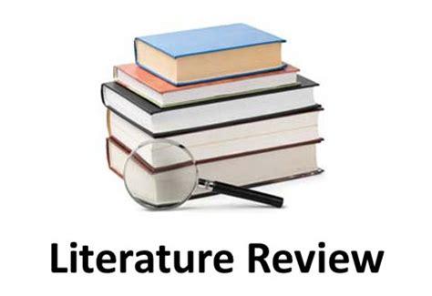 Qualitative research proposal literature reviews